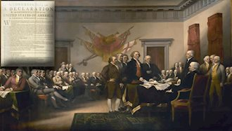 اعلام استقلال ایالات متحده آمریکا