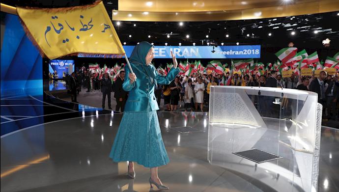 مریم رجوی ـ تأکید بر تداوم قیام با کانونهای شورشی