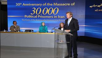 پاتریک کندی- قتل عام ۳۰هزار زندانی  ایران جنایت علیه بشریت است