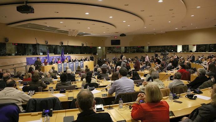 مریم رجوی در پارلمان اروپا ـ روز جهانی حقوقبشر