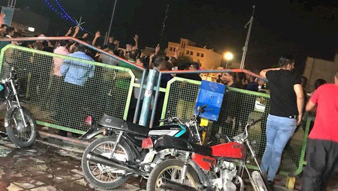 تظاهرات مردم کازرون - ۱۴مرداد۹۷