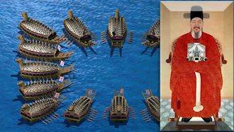 نخستین کشتیهای زرهدار جهان در کشور کره ساخته شد