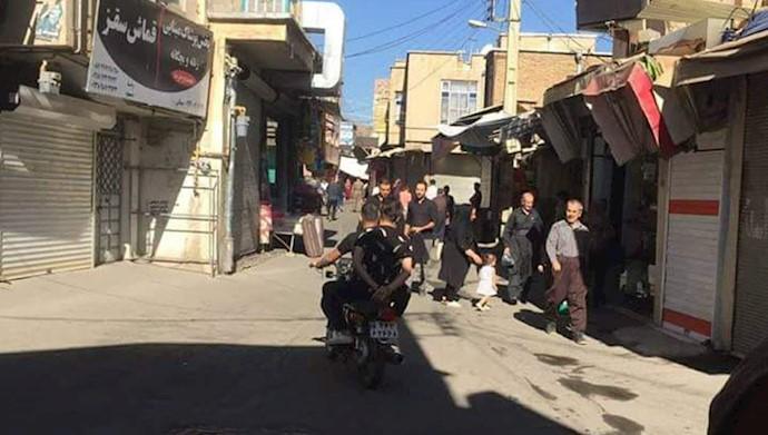 اعتصاب سراسری در شهرهای کردستان