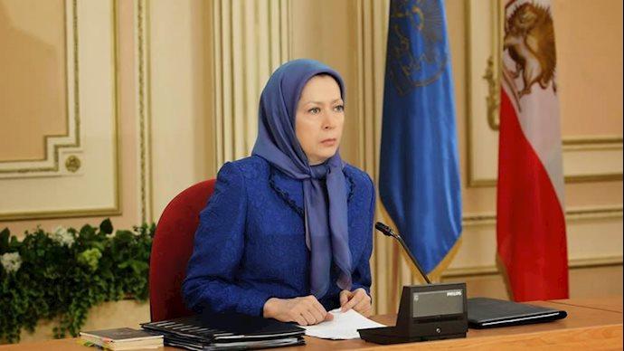 مریم رجوی،رئیس جمهور برگزیده مقاومت ایران