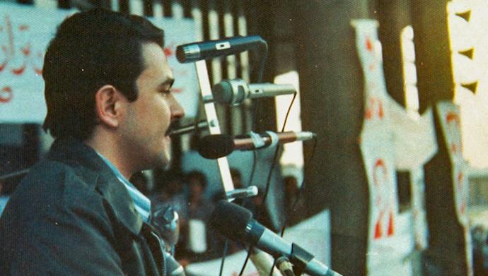 ولین سخنرانی مسعود رجوی بعد از آزادی