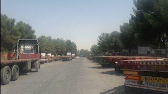 اعتصاب کامیونداران - شاپور اصفهان