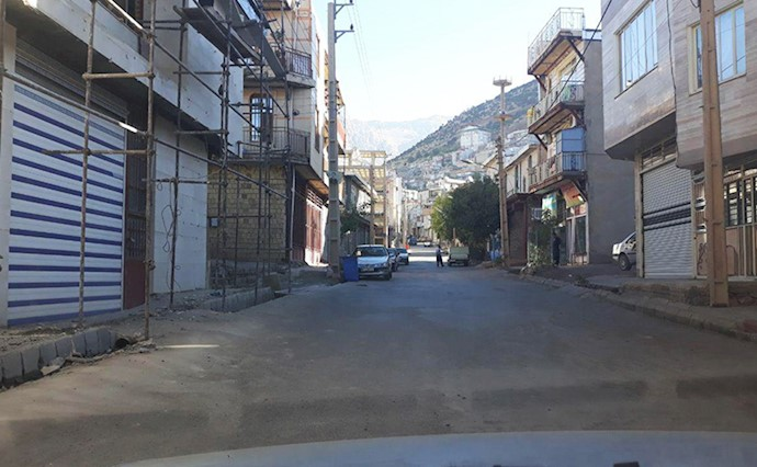 اعتصاب سراسری در شهرهای کردستان ایران به روایت تصویر