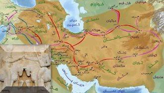 قلمرو امپراطوری ایران و روم در زمان ساسانیان