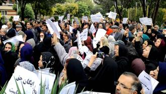 تجمع معلمان در تهران و شمار دیکری از شهرهای ایران