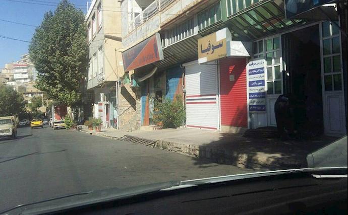 اعتصاب سراسری در شهرهای کردستان-پاوه