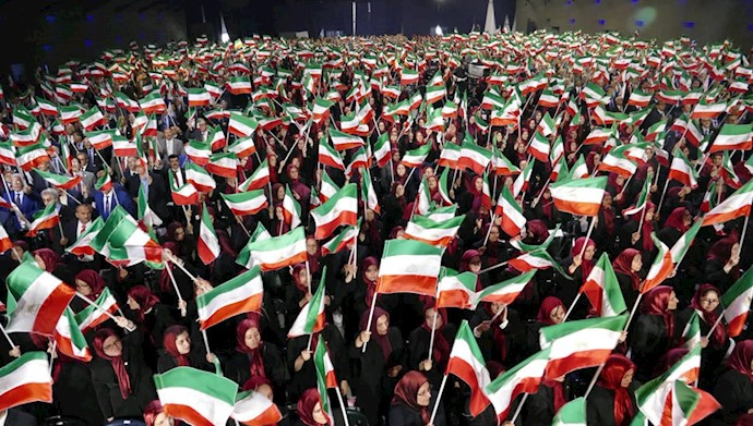 تجمعی از سازمان مجاهدین خلق ایران