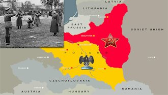لهستان بین شوروی سابق و آلمان تقسیم شد