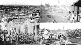 زلزله شدید در کلکته هند ۳۰۰هزار قربانی گرفت