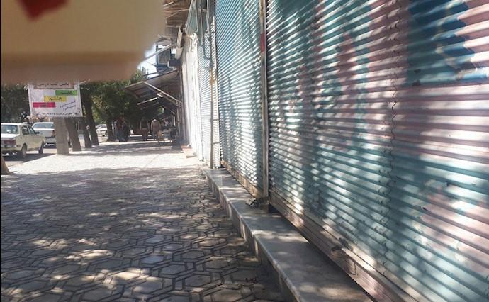 اعتصاب سراسری در شهرهای کردستان-اشنویه