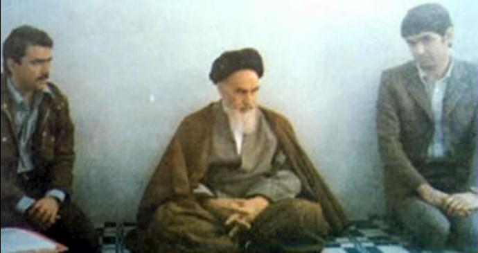 مسعود رجوی ـ ملاقات با خمینی.