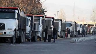 اعتصاب سراسری رانندگان کامیون