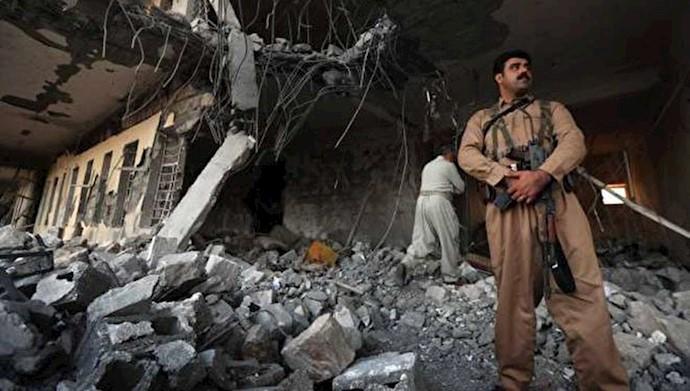 سپاه پاسداران حمله موشکی به حزب دموکرات کردستان در عمق خاک اقلیم کردستان عراق را به عهده گرفت