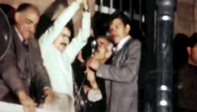 ۳۰دی آزادی مسعود رجوی از زندان