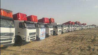 استان فارس - اعتصاب سراسری کامیونداران ـ آرشیو