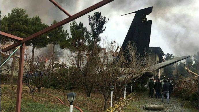سقوط هواپیمای بوئینگ ۷۰۷ در حوالی فرودگاه  پیام کرج