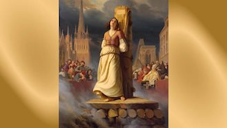 به آتش کشیدن ژاندارک توسط کلیسا