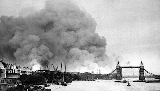 ۳۱ ژانویه ۱۹۴۲ - ۱۱ بهمن: بمباران لندن