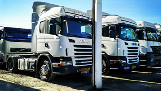 اعتصاب رانندگان کامیون