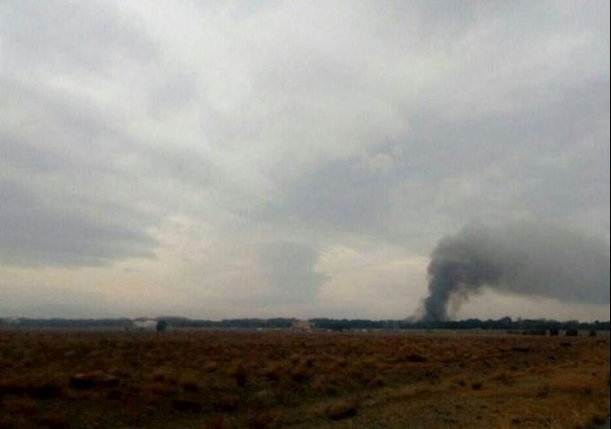 سقوط هواپیمای بوئینگ٧٠٧متعلق به نیروی هوایی ارتش رژیم