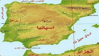 ۱مارس ۷۱۴ - ۱۰اسفند: تصرف اندلس اسپانیا توسط اعراب