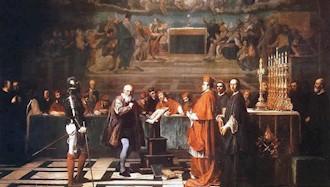 ۱۷ فوریه ۱۶۰۰ - ۲۸بهمن: دادگاه تفتیش عقاید یکی دیگر از دانشمندان را در آتش افکند
