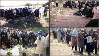 ۲ بهمن ۱۳۶۸ - ۲۲ ژانویه: تحصن خانوادههای شهدا و زندانیان سیاسی در مقابل دفتر سازمان ملل متحد در تهران