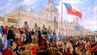 ۱۲ فوریه ۱۸۱۸ - ۲۳بهمن: استقلال کشور شیلی
