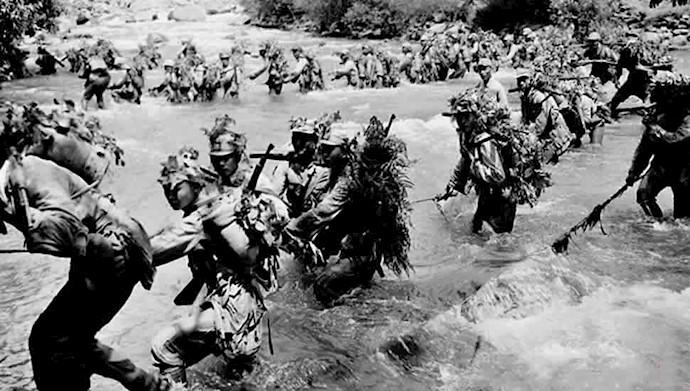 ۹۰۰سرباز ژاپنی توسط تمساحها خورده شدند