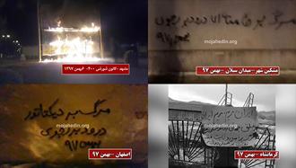 فعالیت کانونهای شورشی در شهرهای ایران