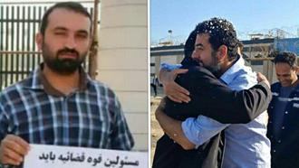 آزادی کریم سیاحی و طارق خلفی با وثیقه ۲۵۰ میلیون تومانی از زندانهای رژیم آخوندی