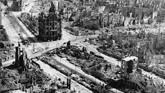 ۱۴فوریه ۱۹۴۵ - ۲۵ بهمن: بمباران شهر درسدن آلمان