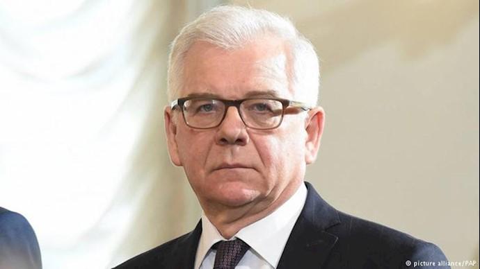 یاتسِک چاپوتوویچ، وزیر خارجه لهستان