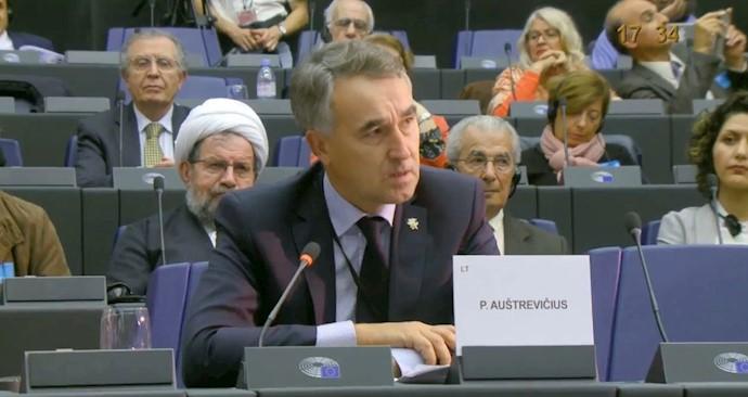 پتراس استرویچوس عضو پارلمان اروپا از لیتوانی