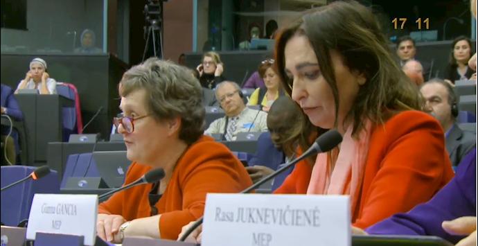 جیانا گانسیا عضو پارلمان اروپا از ایتالیا