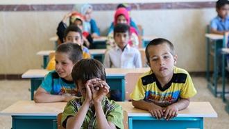 دانش آموزان بی کتاب و  بی معلم