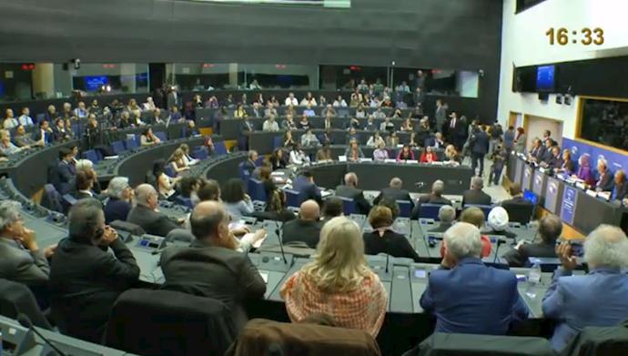 مریم رجوی در پارلمان اروپا - اول آبان ۹۸