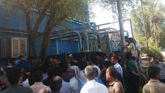 تجمع اعتراضی کارگران نیشکر هفت تپه - آرشیو
