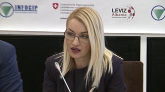 خانم رومینا کوکو معاون وزیر کشور آلبانی