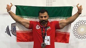 امیرمحمد شهنوازی نایب قهرمان پاورلیفتینگ آسیا