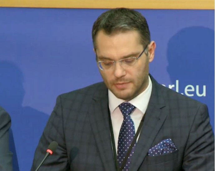 استانیسلاو پولچک عضو پارلمان اروپا از استونی