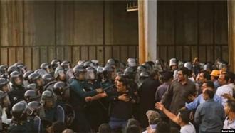 سرکوب کارگران هپکو توسط نیروهای سرکوبگر