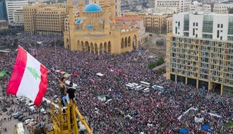 تظاهرات مردم لبنان