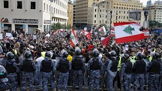 ۵روز قیام و اعتراض در لبنان
