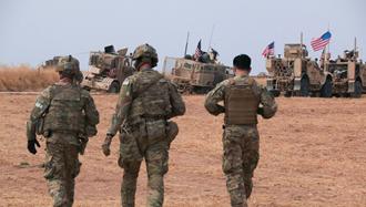 نیروهای آمریکایی در شمال  سوریه
