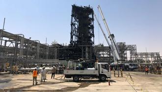 حمله موشکی رژیم آخوندی به تاسیسات نفتی آرامکو
